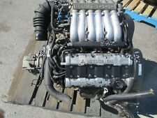JDM 1990-1992 Mitsubishi 3000GT Dodge Stealth 6G72 Engine Non Turbo 5speed awd