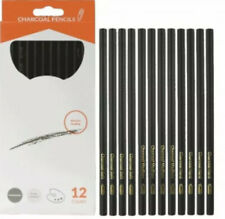 12 Pack Charcoal Pencil - Drawing Pencils