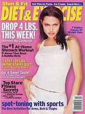 ANGELINA JOLIE Diet & Exercise Magazine Summer 2004 B-4-1