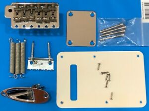 Fender Stratocaster project parts