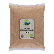 Organic Ground Cardamom - Powder - 1kg Certified Organic