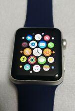 Apple Watch Series 7000 38mm Silver Aluminum Case Sport Band B GRADE