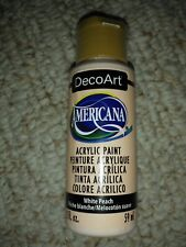 Americana DecoArt Acrylic Paint 2oz-White Peach