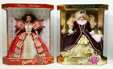Barbie Happy Holidays Special Edition Dolls Lot Of 2 NRFB