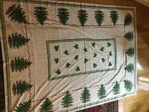 Spode CHRISTMAS TREE 60 x 84 Table Cloth