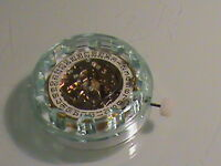 NEW OLD STOCK GRUEN 17 JEWELS WIND-UP MEN'S WRISTWATCH MOVEMENT / DATE AS 2064
