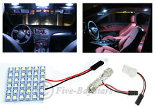 2x T10 & Festoon Universal 36 SMD Xenon White LED Panel Interior Dome Map Light