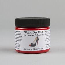 Angelus Acrylic Sole Coat Walk On Red 2oz BOTTOM COAT RESTORER