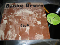 BOBBY BROWN Live '78 Destiny PRIVATE PRESS SIGNED nm lp oop AUTOGRAPHED rare