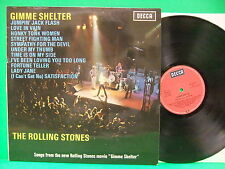 The Rolling Stones Gimme Shelter 1971 NM Germany Import LP Decca SLK 16731-P