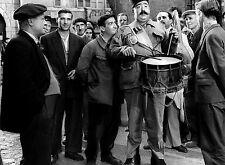 PHOTO NI VU, NI CONNU - LOUIS DE FUNES, MOUSTACHE & PIERRE MONDY - 11X15 CM #90