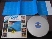 Video Waves Japan Laserdisc Cure Smith Status Quo Genesis Lotus Eaters LD Laser