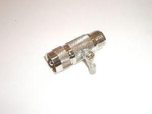 OPEK AT-7516 CB HAM RADIO HF / VHF ANTENNA PROTECTION AIR GAP LIGHTNING ARRESTER