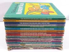 Lot of 16 Berenstain Bears Hardcover Vintage First Time Grolier Picture Books