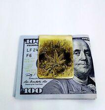 Brass Money Clip Steampunk Money Clip Gothic Vintage