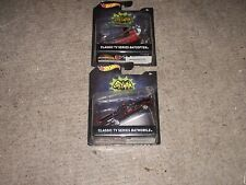 Hot Wheels Collector Series 1:50 Classic TV Series Batmobile Car & Helicopter