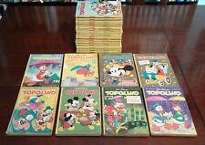 Fumetti TOPOLINO Walt Disney LOTTO di 25 NUMERI anni 1976 - 1983
