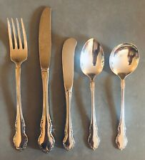 American Airlines Cutlery Stainless 5-Piece Set  Silverware 1st Class Int'l