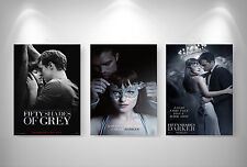 50 Nuances Plus Sombres Fifty Shades Poster format A3 Top Print