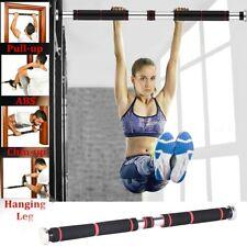 US Door Pull Up Bars Strength Fitness Gym Chin Upper Workout Heavy Duty Doorway