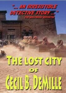 LOST CITY OF CECIL B DEMILLE NEW DVD