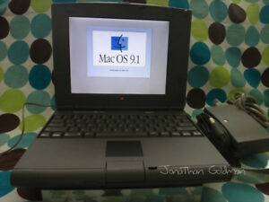 Apple Macintosh PowerBook Duo 2300c PowerPC 603e 100Mhz 48MB RAM 120GB HD OS 9.1