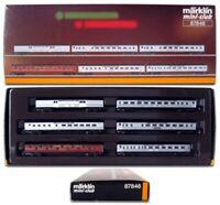 Marklin Z Scale 87846 6 Car Atlantic Coast Passenger Set See 88602-Orig Box  C9