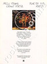 Neil Young Crazy Horse Year Of The Horse LP Advert