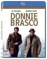 Donnie Brasco Extended Edition Region Blu Ray