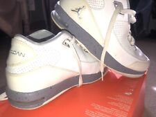 White Jordan Shoes For Mens 6Y Or Womens 8 Michael Jordan Basketball