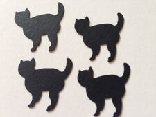 Halloween Chat Noir Comestible Cake Topper Cupcake Toppers Décoration Sucre