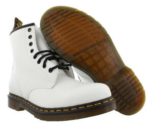 Dr. Martens 1460 Smooth Unisex Shoes Size 4, Color: White