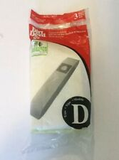 Dirt Devil Type D Vacuum Bags New