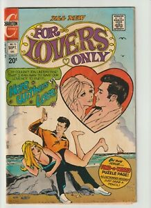For Lovers Only #73 (1973) 3.5 Very Good Minus Rare Spanking Cover! (Charlton)