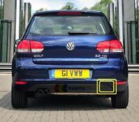 VW GOLF VI 09-13 NEW GENUINE REAR BUMPER TOW HOOK COVER CAP 5K6807441