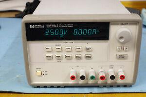 Agilent Hewlett Packard HP Adjustable programmable Bench lab psu E3631a twin