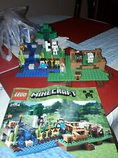 LEGO 21114 Minecraft The Farm Set complete with mini figures and instructions