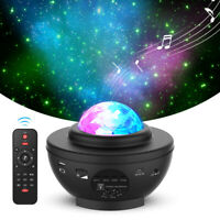 USB Bluetooth LED Starry Light Sky Galaxy Projector remote Night Lamp