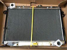 TOYOTA LANDCRUISER 100 SERIES 6CYL 98-02 AT/MT POLISHED ALLOY RADIATOR, 3 ROW