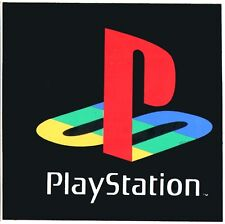 Original 90s Playstation One PS1 Vintage Sticker video game console not ps2 ps3
