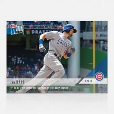 2018 TOPPS NOW #1 IAN HAPP 1ST HR OF 2018 ON 1ST PITCH OF MLB SEASON