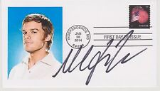 SIGNED MICHAEL C. HALL FDC AUTOGRAPHED FIRST DAY COVER DEXTER