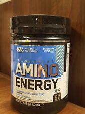 Optimum Nutrition Amino Energy limited edition Blueberry lemonade - 62 Servings