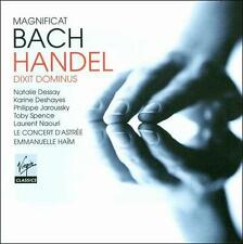 Bach - Magnificat /    Handel - Dixit Dominus, New Music