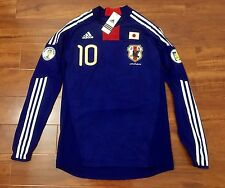 Kagawa, 09-10 Japan Home LS Formotion Player Issue Shirt Size O NWT World Cup