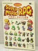 SUPER MARIO RPG Nintendo Official Guide Final Edit SFC Book 1996 See Condition