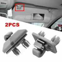 2Pcs Inner Sun Visor Hanger Left Right Clip Hook 8E0857562A For Audi A1 A3 A4 A5
