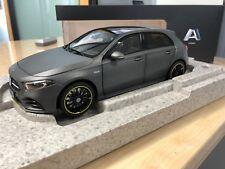 Mercedes Benz, W177, A-Klasse, designo mountaingrau magno, Norev, 1:18 Modell