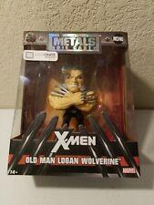 Jada  Metal Old Man Logan Wolverine M240 Loot Crate Exclusive Figure New.