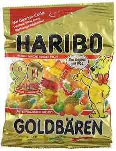 GERMAN Haribo GOLDBAREN 200g - Set of 4 - Exp Date 09/2021